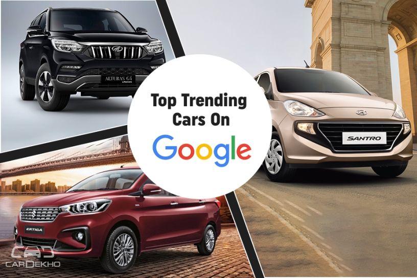 Honda Amaze Hyundai Santro Mahindra Marazzo Among Google S Top 10
