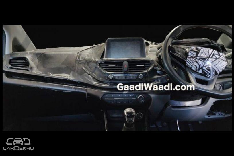 Tata 45X Interior Spied