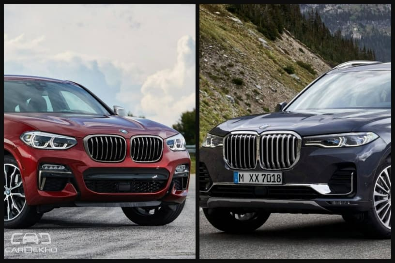 Upcoming Bmw X7 X4 To Be Locally Built In India Launch In 2019