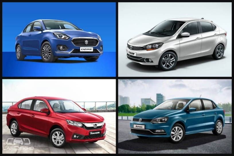 Cars In Demand Maruti Dzire Honda Amaze Top Segment Sales In