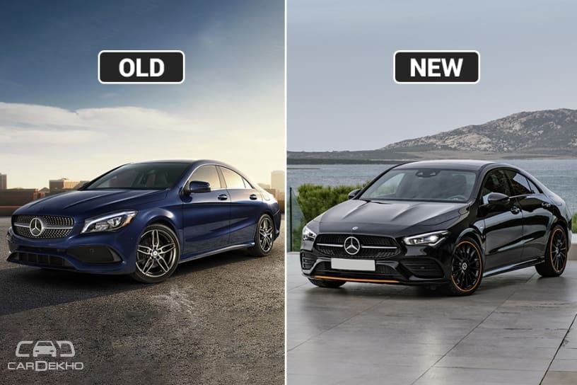 Mercedes Benz Cla Coupe New Vs Old Major Differences Cardekho Com