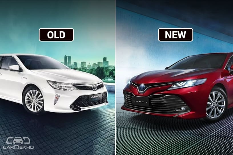 Toyota Camry: Old Vs New
