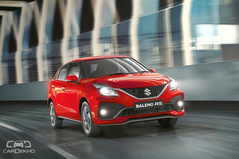 2019 Baleno RS Facelift