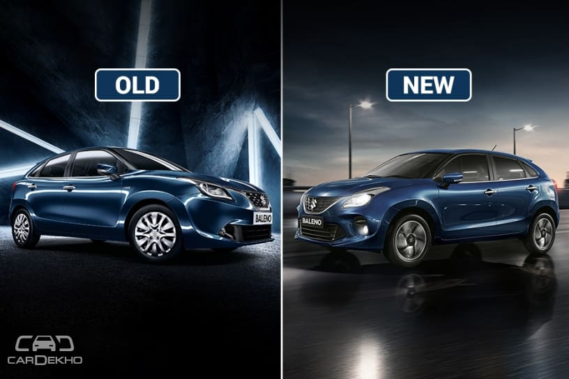 Baleno Old vs New