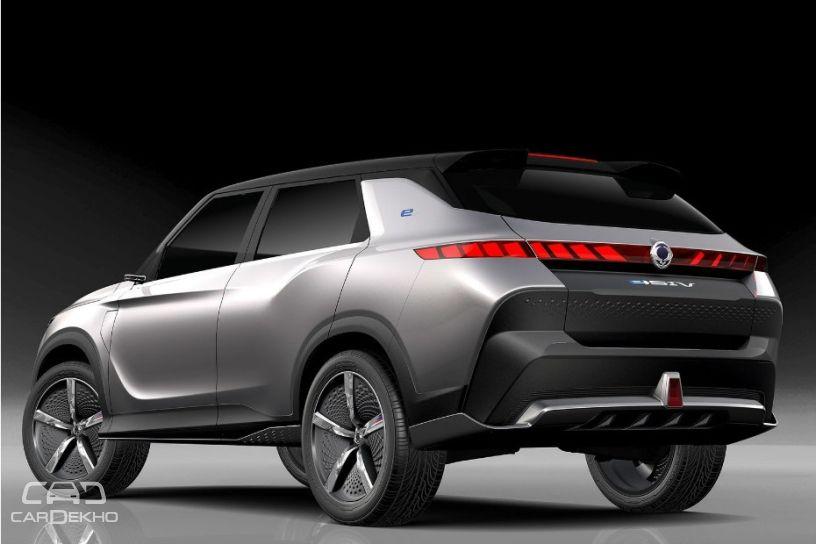 2018 SsangYong e-SIV EV Concept