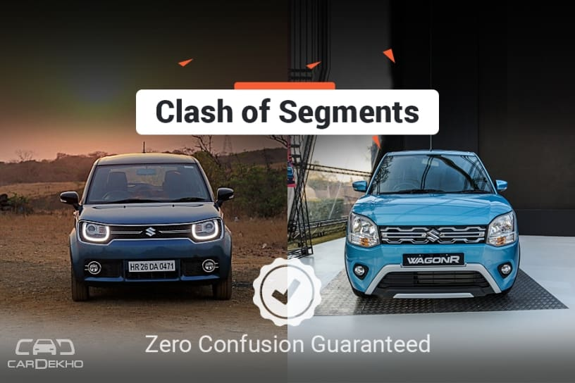 Clash Of Segments: New Maruti Wagon R 2019 vs Maruti Suzuki Ignis - Which Car To Buy?