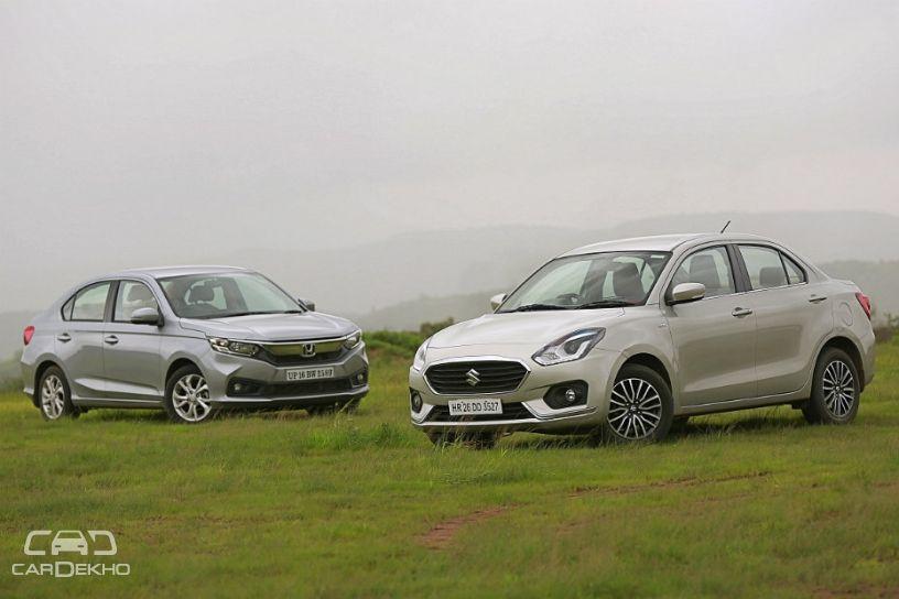 Cars In Demand: Maruti Dzire, Honda Amaze Top Segment Sales In January 2019