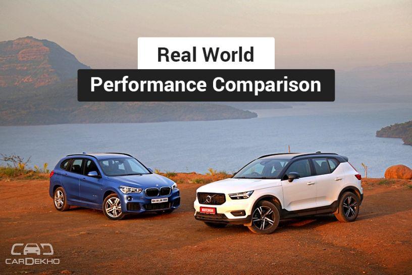 Volvo XC40 vs BMW X1