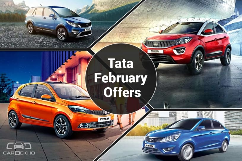 Tata February 2019 Offers: Benefits of Upto Rs 1 Lakh On Hexa, Safari, Nexon & Bolt