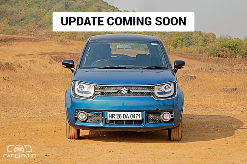 Updated Maruti Suzuki Ignis To Launch In Feb 2019