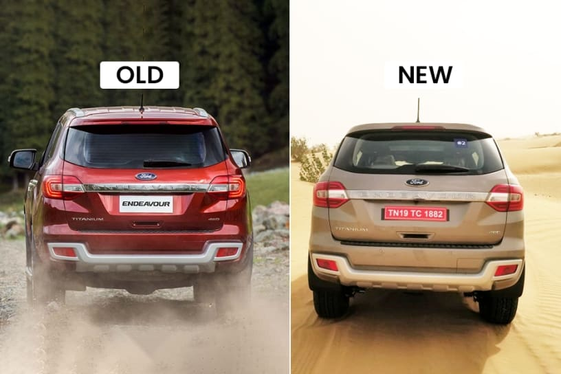 2019 Ford Endeavour Old vs New: Major Differences