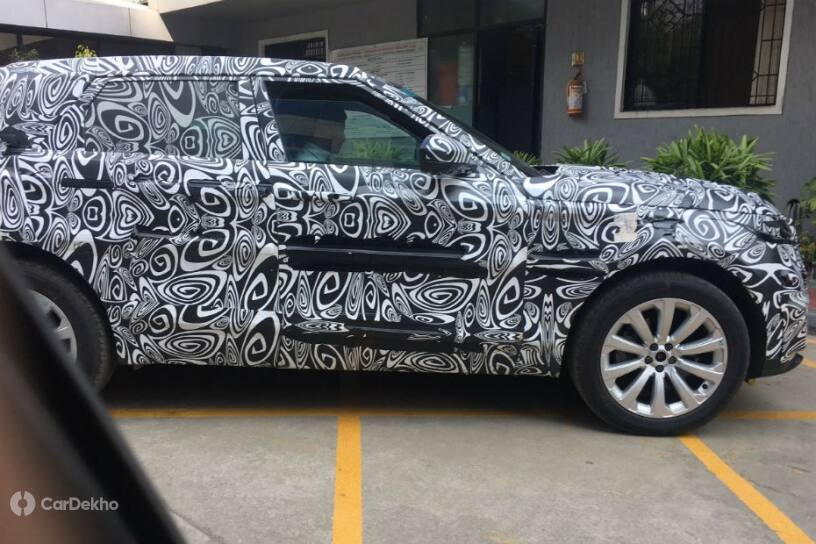 New Range Rover Evoque Spied In India