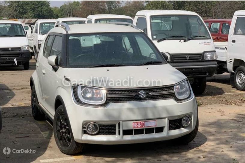 2019 Maruti Ignis Spied At Dealerships Ahead Of Launch