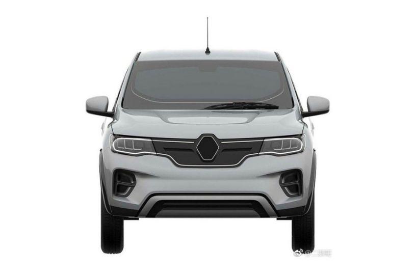 Upcoming Renault Kwid EV Revealed In Leaked Drawings