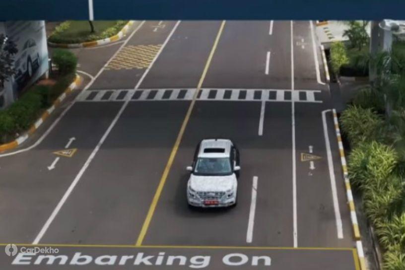 Hyundai QXi Teased; Maruti Vitara Brezza Rival To Get Sunroof, DRLs