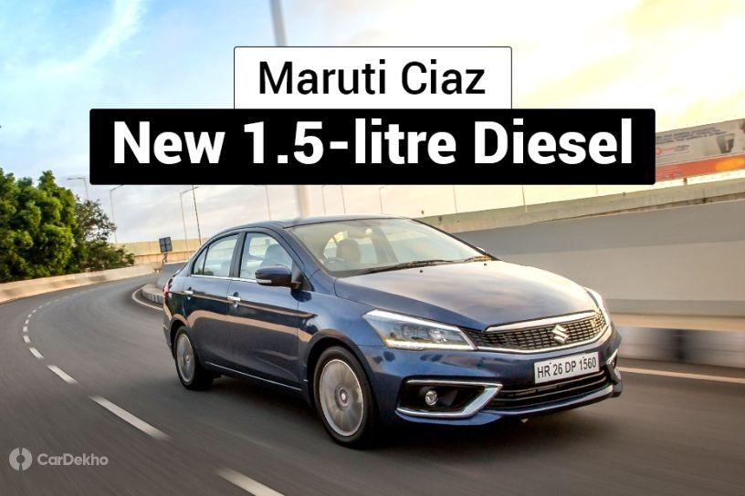 Maruti Suzuki Ciaz 1.5-litre diesel