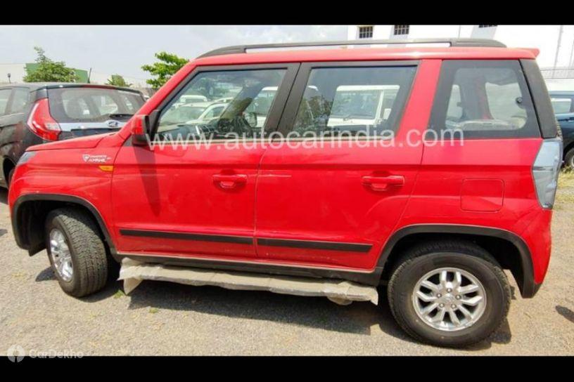 Mahindra TUV300 Facelift Leaked; Looks More Premium Now