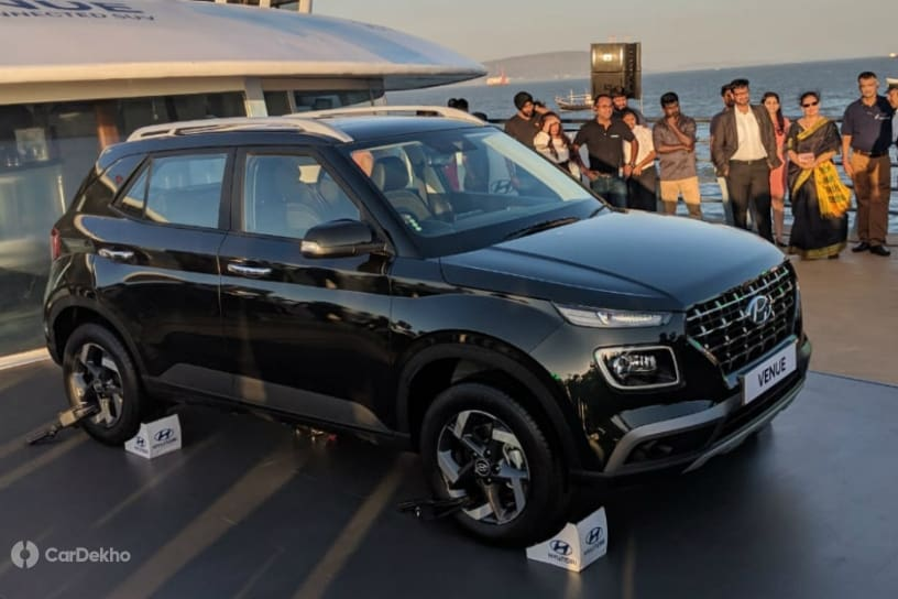Hyundai Venue Breaks Cover, Ready To Take On Sub-4m SUVs With Bold Styling