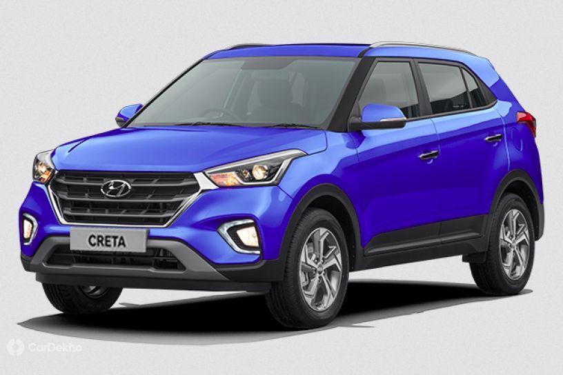 Existing India-spec Hyundai Creta