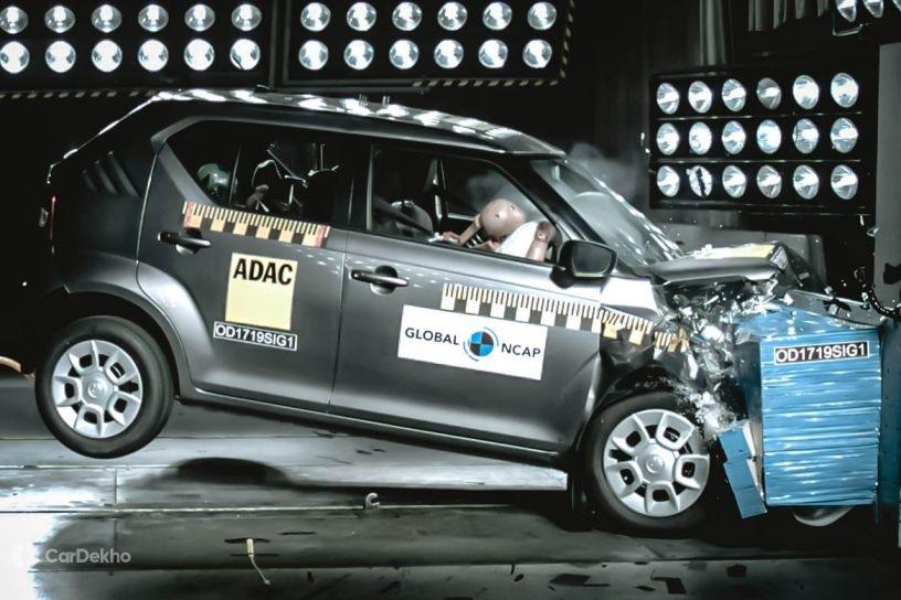 Maruti Ignis crash test