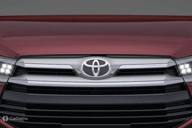 Toyota grille logo