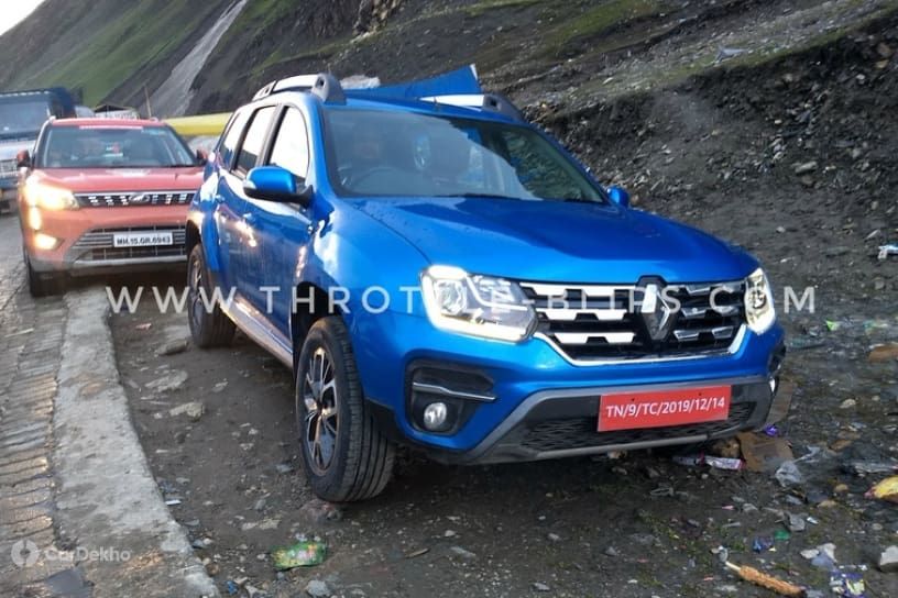 2019 Renault Duster Facelift: This Is It!