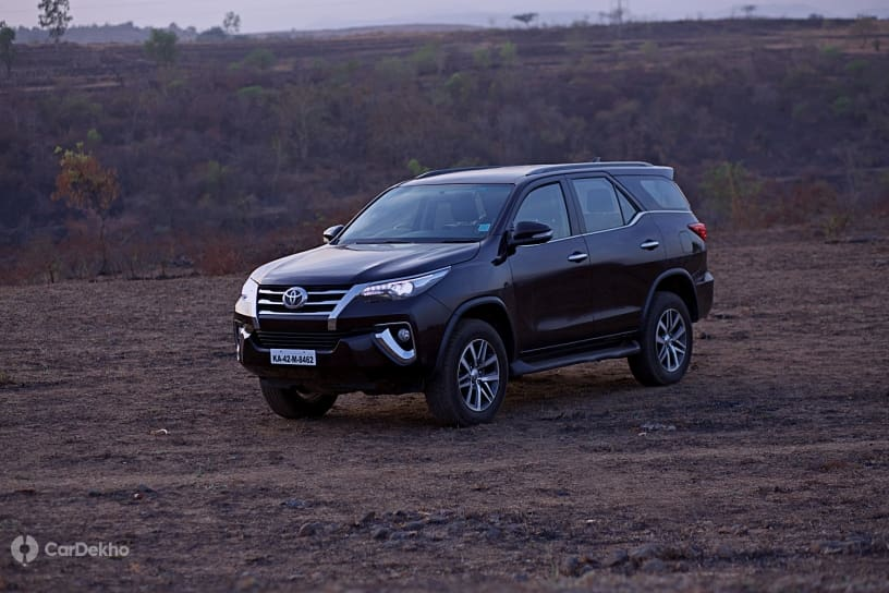 Toyota Fortuner Retains Top Spot In Premium & Large SUV Segment In May 2019