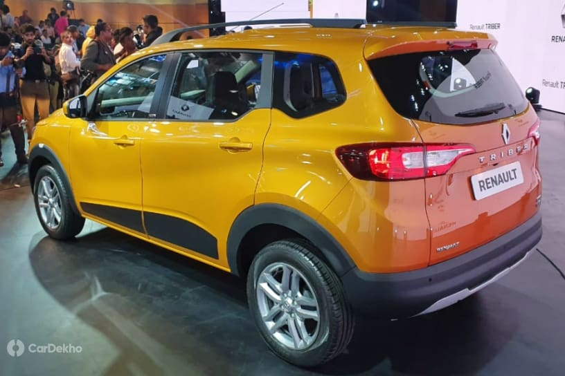 Renault Triber Crossover MPV Unveiled