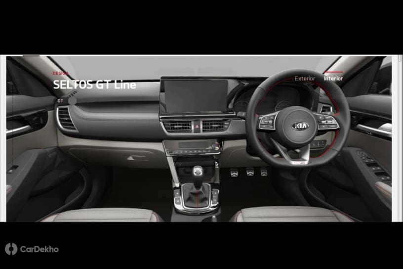 Kia Seltos Interior, Trim Options Revealed Ahead Of August Launch
