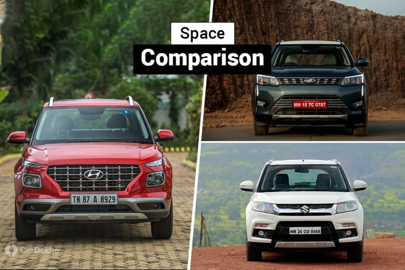 Which Sub-4m SUV Offers The Best Cabin Space?