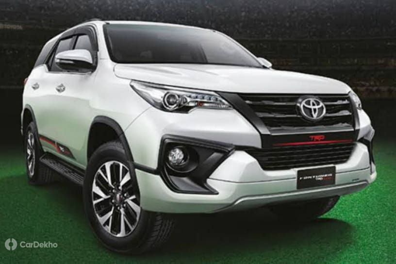 Toyota Fortuner TRD Sportivo 2 India Launch Soon