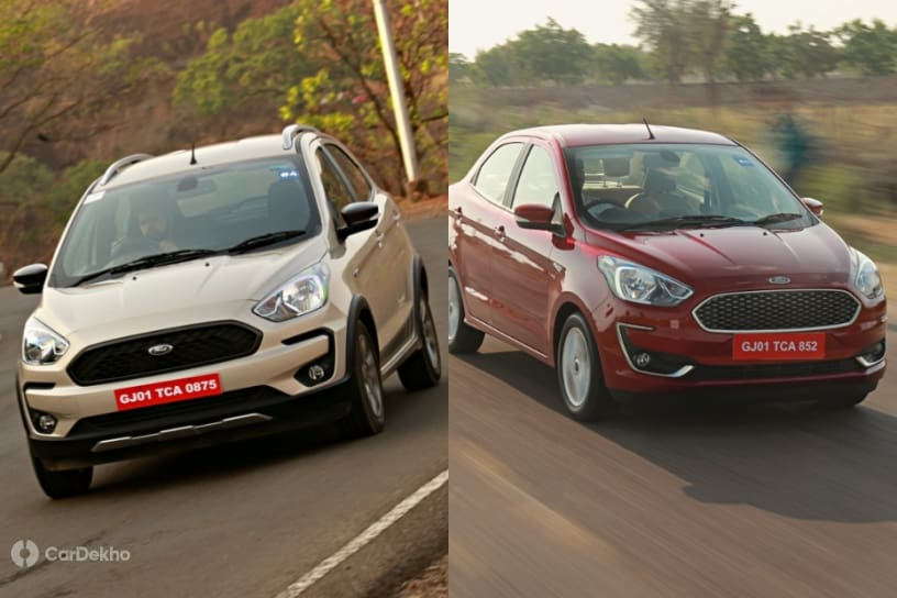 Ford Freestyle vs Ford Aspire: Petrol Performance & Mileage Compared