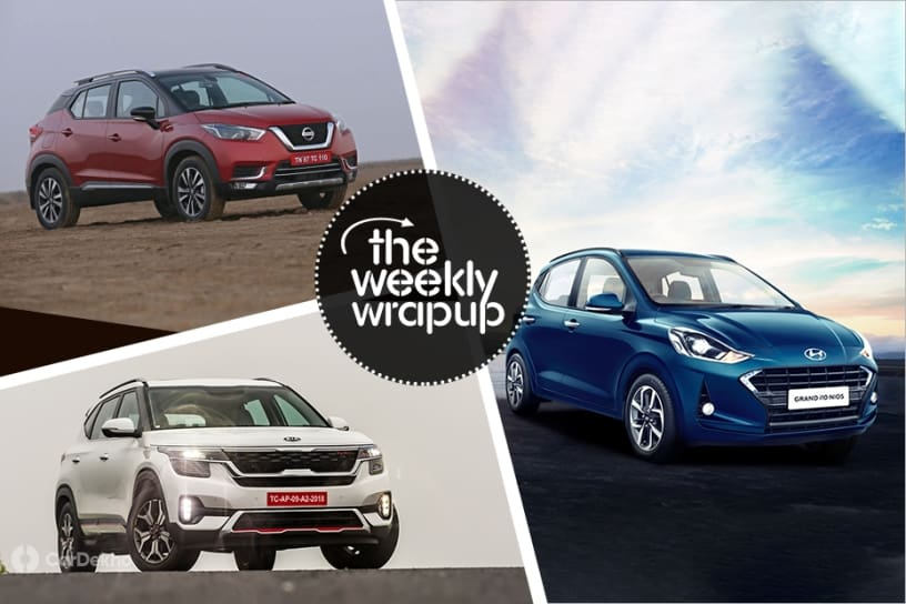 Top 5 Car News Of The Week: Nissan Kicks, Kia Seltos, Hyundai Grand i10 Nios & More