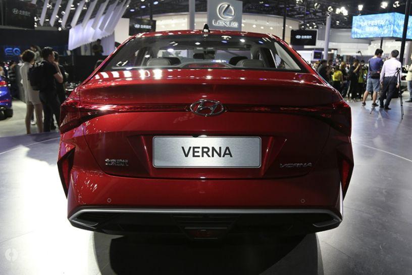 Hyundai Verna Facelift revealed