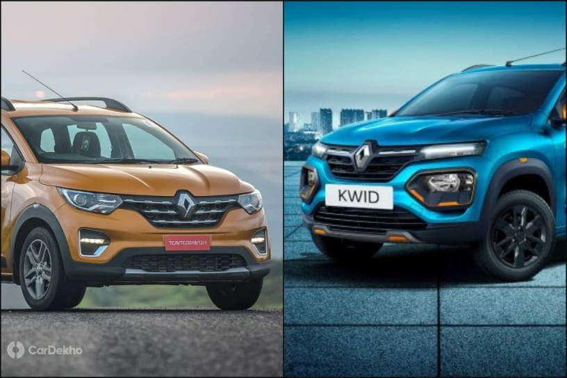 Renault Kwid vs Renault Triber: Which Car To Pick?