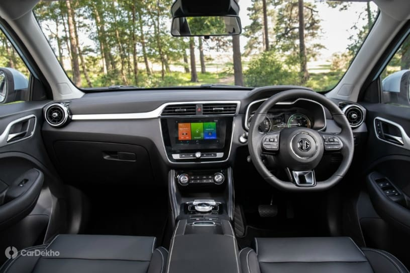 MG ZS EV SUV Now Listed On Indian Website