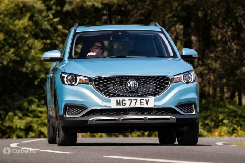 MG ZS EV India-spec Reveal On December 5