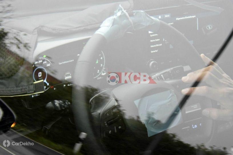 2020 Hyundai Elite i20 With Digital Instrument Cluster Spied