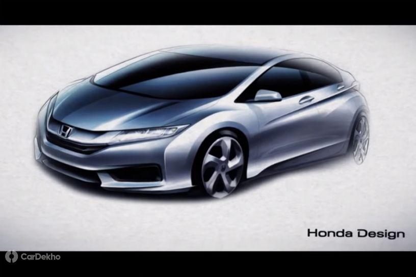 Honda To Unveil Next-gen City On November 25