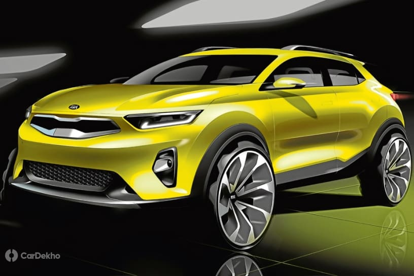 Kia SUV sketch