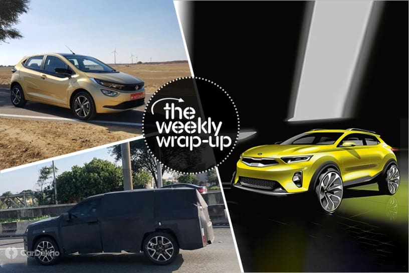 Top 5 Car News Of The Week: Tata Altroz Details, Jeep 7-Seater, Kia QYI, MG ZS EV & Hyundai Kona Electric