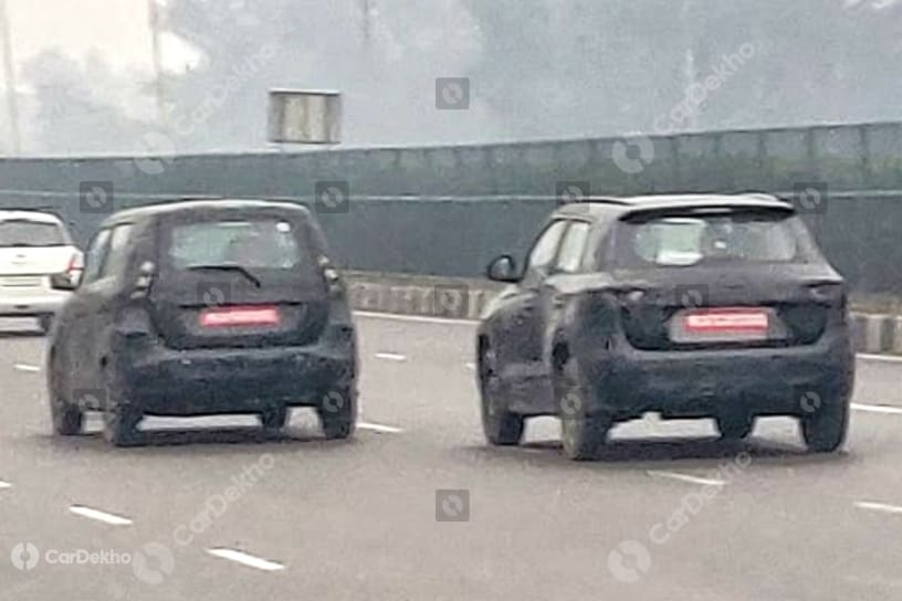 Maruti XL5 Spied Testing Again. Expected To Debut At Auto Expo 2020