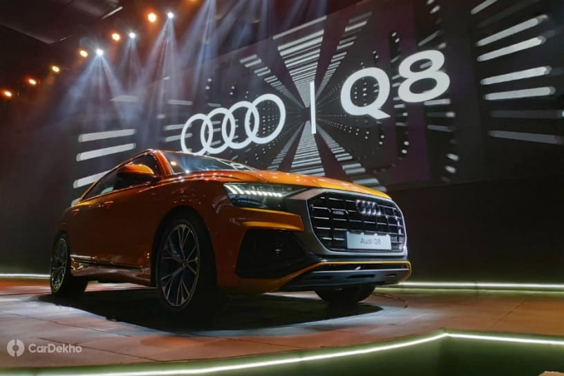 Audi Q8 Launched In India At Rs 1.33 Crore