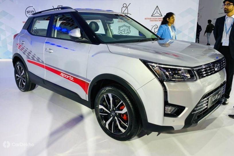 Mahindra XUV300 Sportz Petrol Unveiled. More Powerful Than Maruti Vitara Brezza, Hyundai Venue
