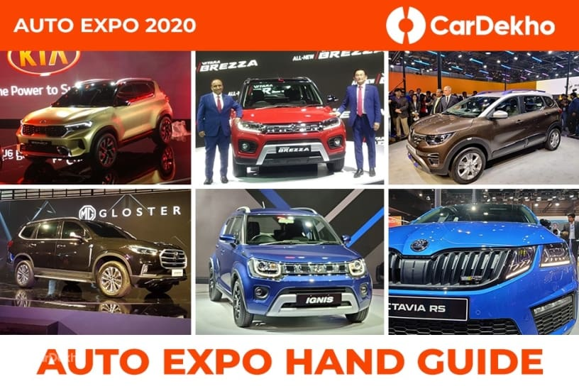 Auto Expo 2020 Hand Guide: All The Important Cars You Cannot  Miss This Weekend