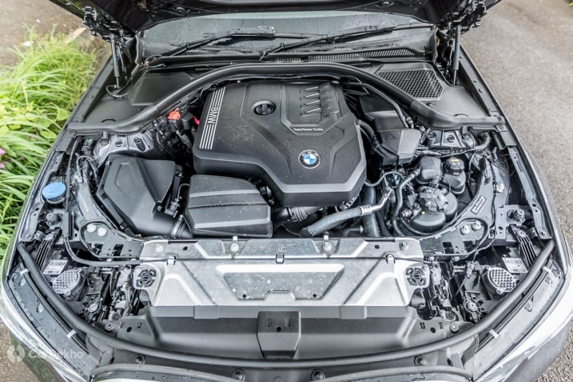 BMW 3 Series 2.0-litre turbo-petrol engine