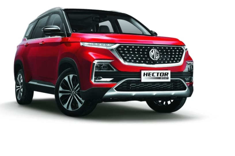 MG Hector Facelift 2021