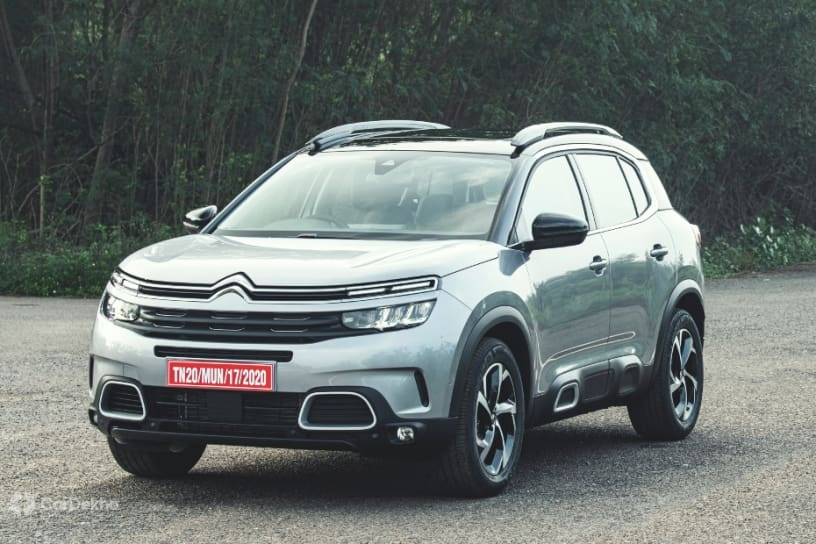 Citroen C5 Aircross: Variant-wise Features Detailed