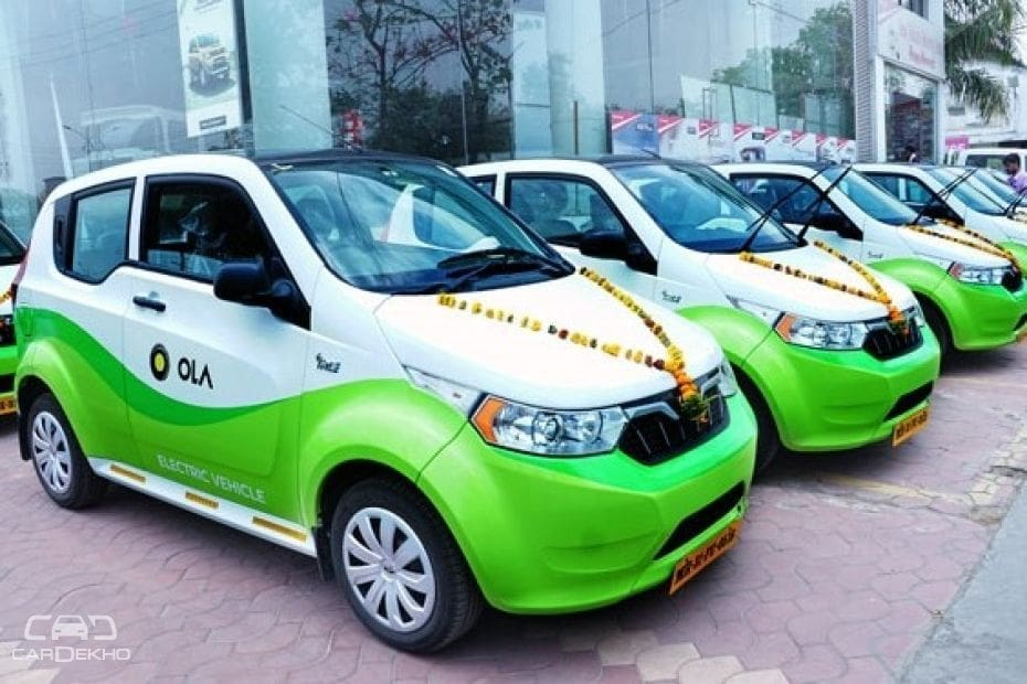 Electric cabs from Ola