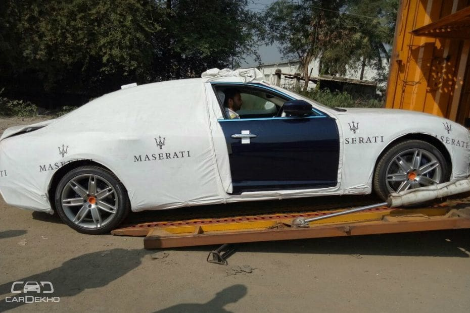 Maserati Quattroporte GTS In India